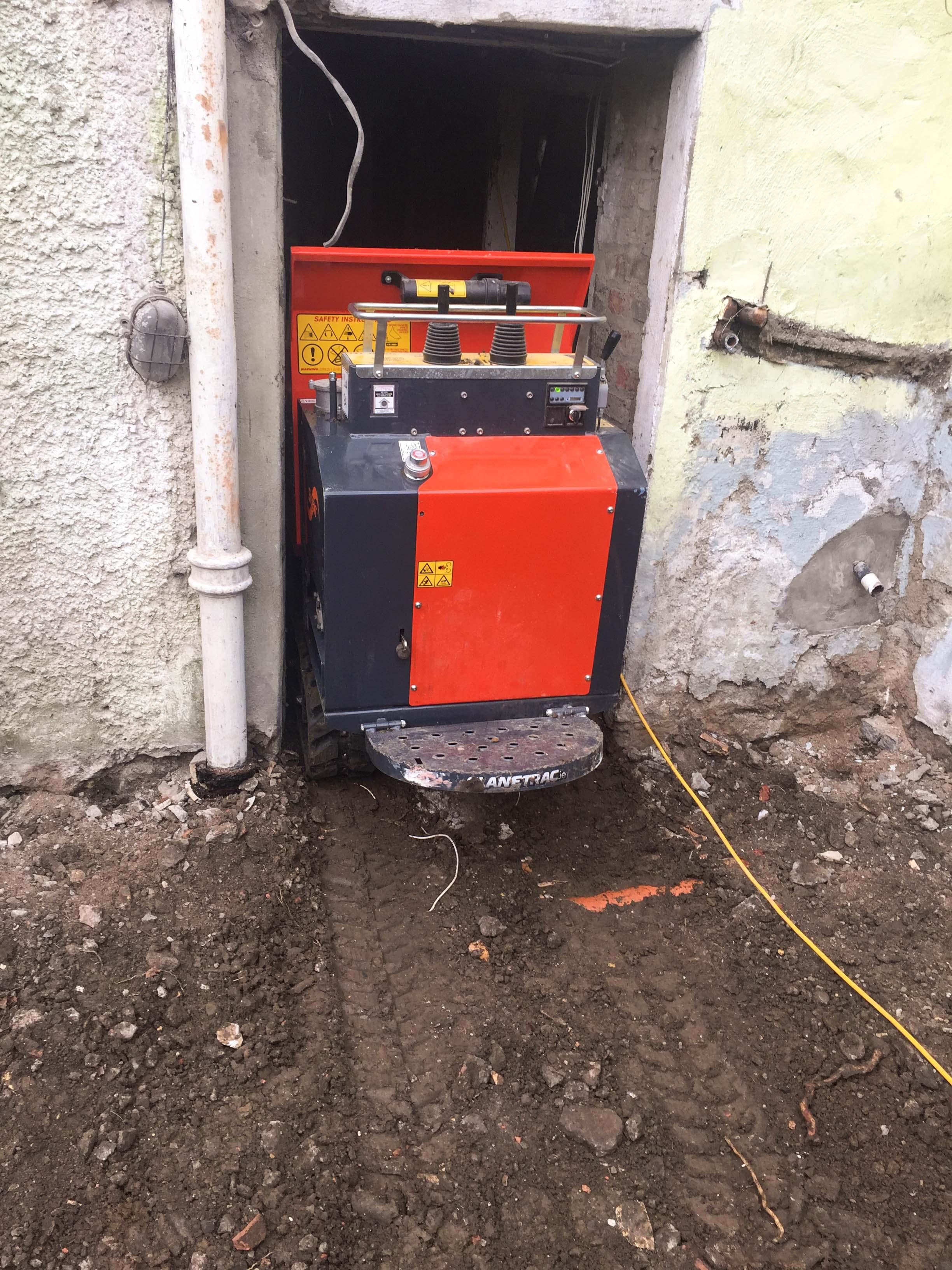 Gasoline Concrete Buggies | Slanetrac Engineering Ireland